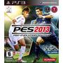 Jogo Pro Evolution Soccer 2013 Pes Ps3 Futebol Mídia Física