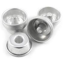 Forma Quindim Gallizzi Kit 1 Dz C Cone. 5x2,5 Cm Aluminio