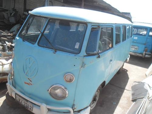 VW VAN KOMBI 1972 DOCKS OK - FUNCIONANDO BOA P/ EXPORTAÇÃO