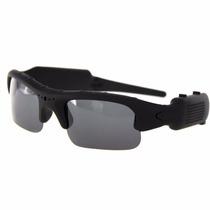 Óculos De Sol Espião Camera Espiã Hd 720p Filma Discreto