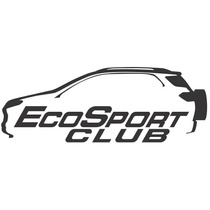 Adesivo Decorativo Parabrisa Carro Club - Ecosport Clube