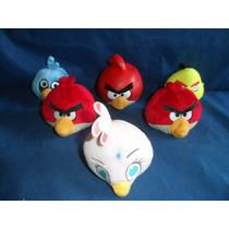 Lote De Personagens Angry Birds Usados No Estado 11cm Altura