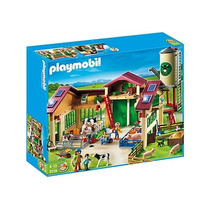 5119 Playmobil Country Grande Celeiro Com Silo