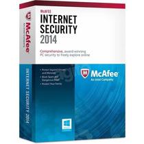 Mcafee Internet Security 2014 Licença 1ano - 3 Dispositivos