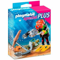 Playmobil Special Plus Mergulhador - 4786