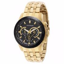 Relógio Technos Carbon Os2aap/4p - Garantia E Nf
