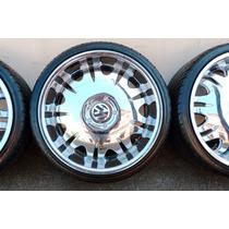 Roda Aro 20 Maxwheels Pneu Sunny 225/35/20 5 Furos Multi