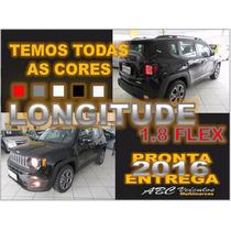 Jeep Renegade Longitude 1.8 Automatico Rodas 18 0 Km 16/16
