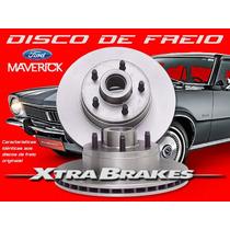 Disco De Freio Dianteiro Ford Maverick By Xtrabrakes