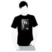 Camisa 100% Algodão -eminem Foto Mosaico Excelente Qualidade