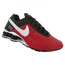 Tênis Nike Shox Deliver Preto E Vermelho (replica)