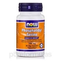 Fosfatidilserina 100 Mg - 30 Veg Cápsulas Por Now
