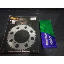 Kit Relação Virago 250 C/corrente Kmc S/retentor 520h X 114l