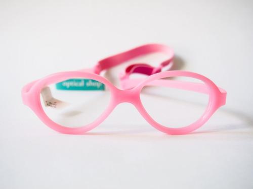 72d1d39fe Óculos Infantil Miraflex Silicone 6 A 9 Anos Baby One 2