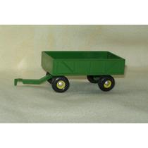 Miniatura Carreta 4 Rodas John Deere - 1/64