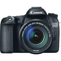 Câmera Digital Canon Eos 70d Kit 18-135 - Lançamento