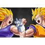 Painel Decorativo Festa Infantil Dragon Ball Goku (mod2)