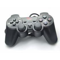 Kit 2 Controles Playstation 2 Com Fio Analogico Play Game