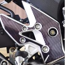 Protetor Relevo Quadro Pedaleira Moto Honda Cb Cbr 500 >