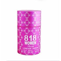 Perfume Lonkoom 818 Women Pink 60ml +brindes