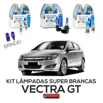 Kit Lâmpadas Super Brancas Tech One Vectra Gt 06/08
