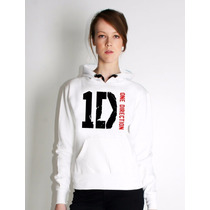 Blusa One Direction Moletom Canguru - Pronta Entrega!