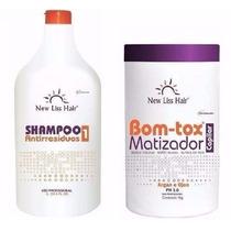 Bottox Capilar Matizador + Shampoo New Liss Frete Gratis