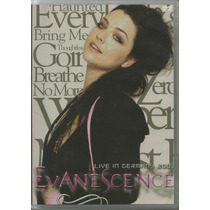 Dvd Evanescence Live In Germany 2003