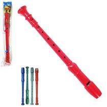 Flauta Doce Infantil Sortida Brinquedo Musical