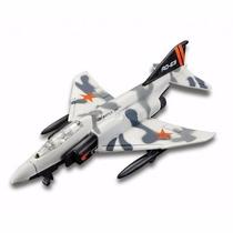 Miniatura Em Metal F-4 Phantom Ii Forces Sky Squad Sem Pé