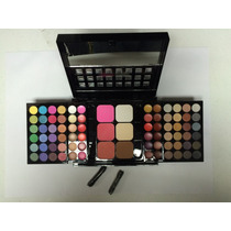 Maquiagem Profissional - Paleta Sombras 78 Cores - Sp78#000