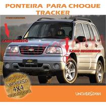 Aplique Parachoque Dianteiro Tracker, Direito, Passageiro