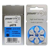 Bateria Para Aparelho Auditivo P675 - 60 Unidades - Oferta