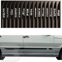 Friso Lateral Personalizado Fiat Uno Mille 4 Portas Tg Poli