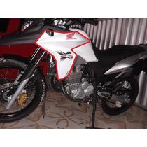 Carenagem Esquerda Xre300 Branca 2014- Original Honda