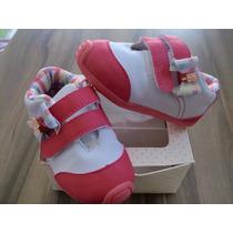 Tenis Marisol Branco Com Rosa