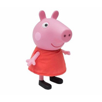 Boneco Peppa Pig 32 Cm Vinil Multibrink - Original