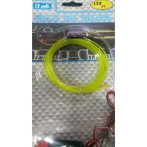 Fio De Neon Automotivo Car Tuning El Wire Com 3 Metros