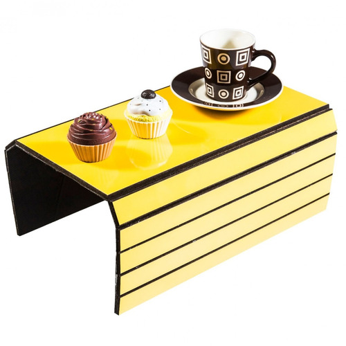 Lugar Americano Para Sofá Liso Evolux Amarelo