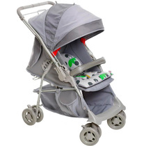 Carrinho De Bebê Galzerano Maranello Cinza