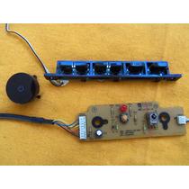 Teclado + Sensor Remoto Tv Lcd Samsung Ln40r71bax Ln40r71