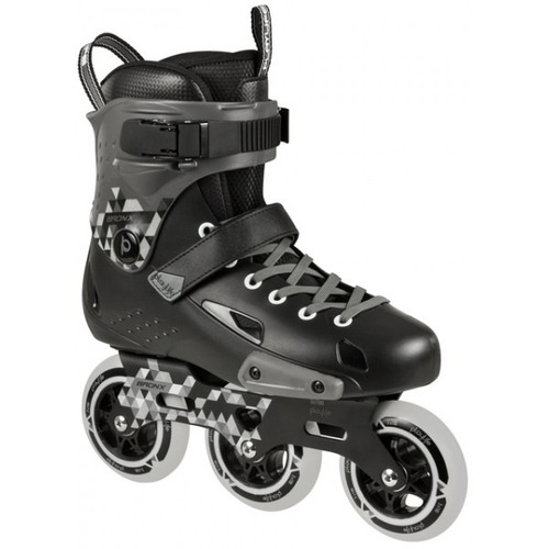 Patins Powerslide 3 Rodas 100mm Playlife Bronx Supercruiser