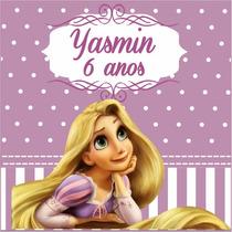 Rapunzel Rótulos Adesivos Personalizados Etiquetas Festa