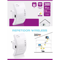 Roteador Repetidor Wireless Multilaser 300 Mbps Wps Re051