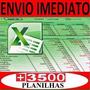 produto Planilhas Excel 100% Editáveis Frete Grátis - Download  !!!
