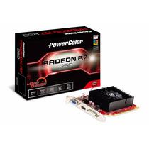Placa De Video Amd Radeon R7 250 Powercolor 2gb - Axr7 250