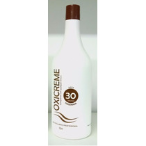 Água Oxigenada 30 Volumes Lánoly Cremosa Profissional 950 Ml
