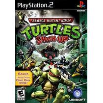 Turtles Smash-up Tartaruga Ninja Play 2