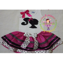 Vestido Fantasia Roupa Aniversário Luxo Princesa Barbie