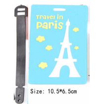 Etiqueta Mala Viagem Dados Passageiro Paris Torre Eiffel